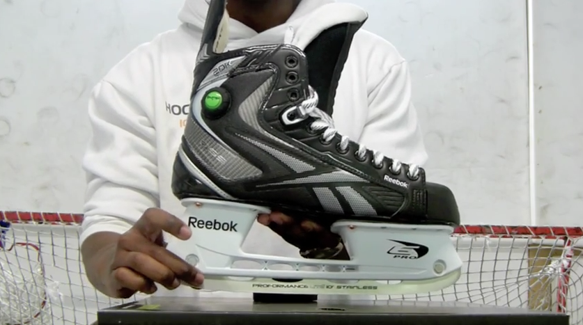 8d2468f6757 Reebok 20K Ice Hockey Skates Video Review 2012 – Hockey Tutorial