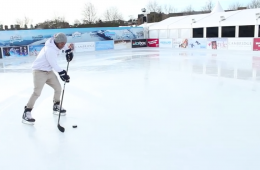 how to pass in hockey