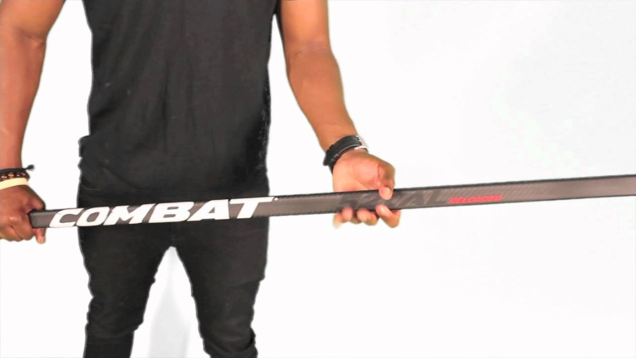 Combat Hockey 52 Cal Reloaded Ice Hockey Stick Review – 52 Caliber