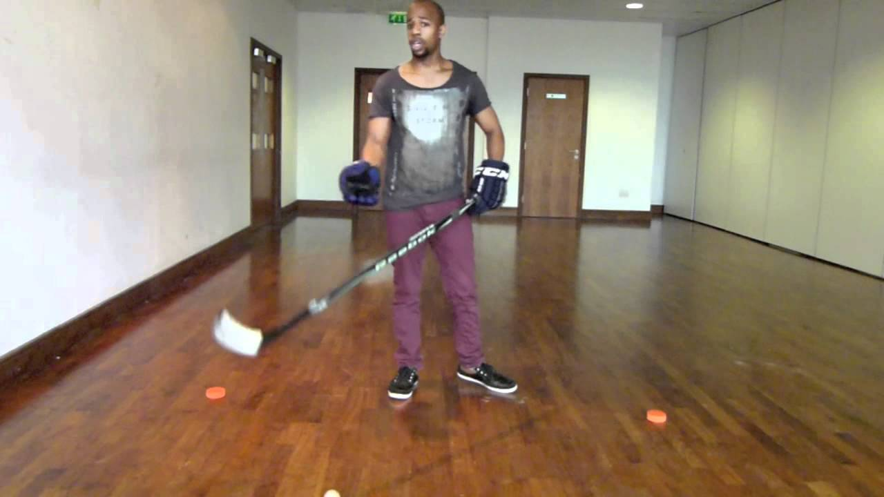 Hockey Stickhandling Basics For Beginners With Off Ice Hockey Drills & Exercises For All
