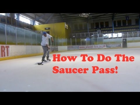 How To Do The Saucer Pass – Ice Hockey Make A Saucer Pass Tutorial