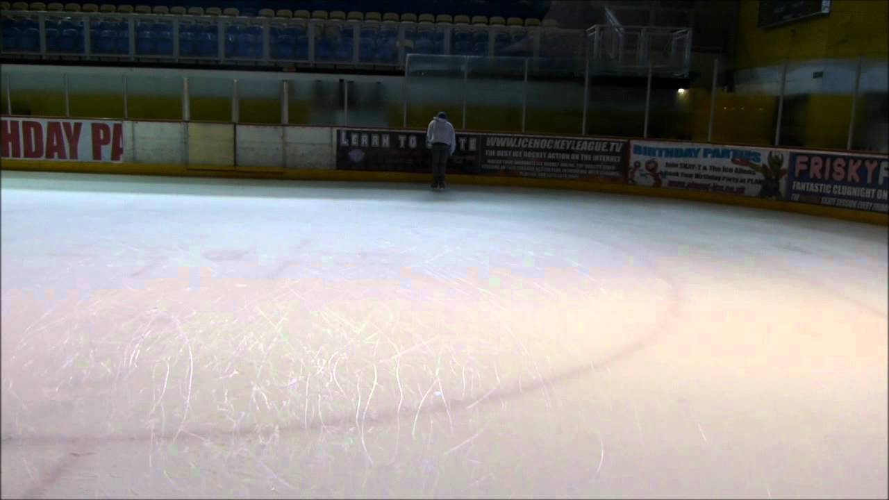 How To Do The Skate Toe Drag Drill or Scrape Return Drills