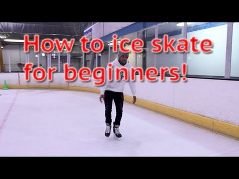 How to ice skate and glide for beginners – ice skating 101 learn to skate