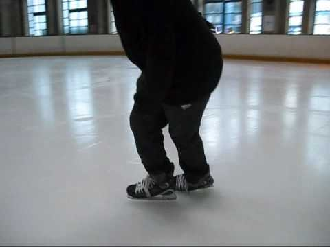 How to ice skate ice skating tutorial