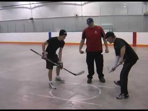 How To Improve Your Hockey Wrist Shot Shooting Accuracy & Win Face-offs Hockey Off-Ice Tutorial