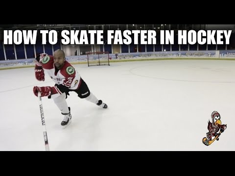How To Skate Faster In Hockey Video Tutorial