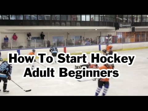 How To Start Or Get Into Playing Rec Ice Hockey As An Adult
