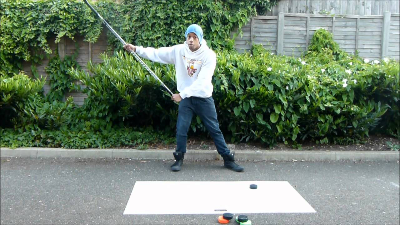 How to Take A Slap Shot Hockey Video Tutorial – Improve Slap Shot technique and accuracy
