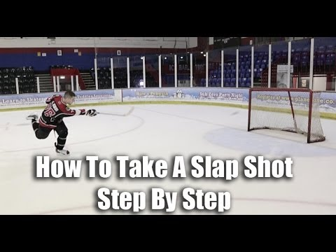 How To Take A Slap Shot In Hockey Video Tutorial On Ice – Hockeytutorial.com