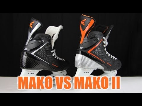 Original Easton Mako Skates vs Mako II Skates Review