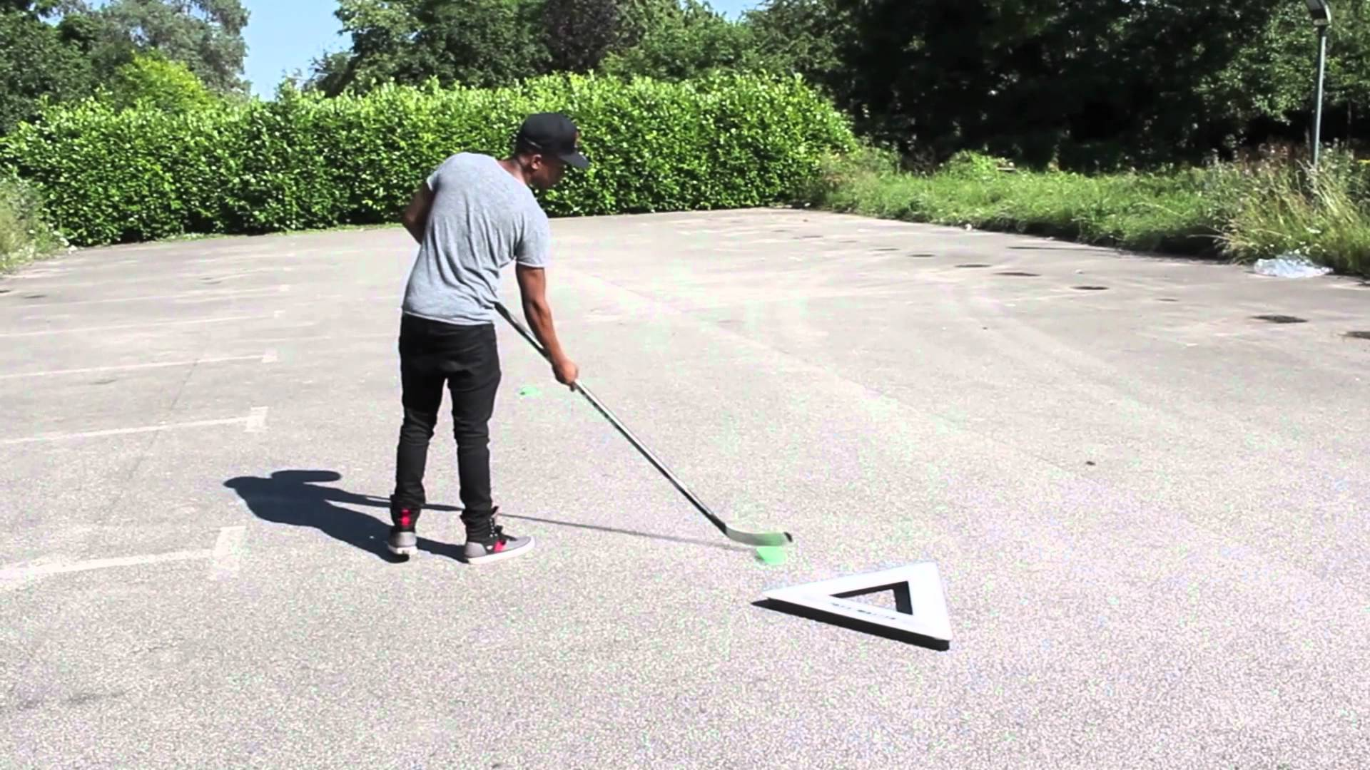 PassMaster Hockey Puck Rebounder Review