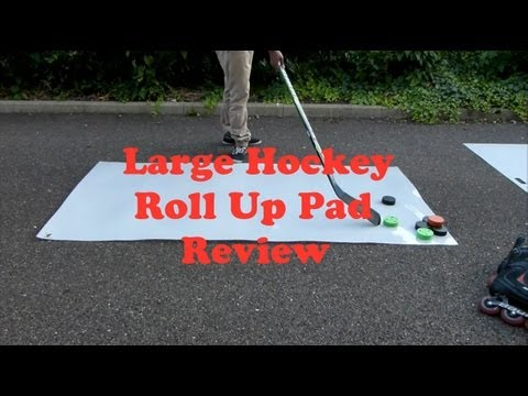 Roll Up Hockey Shooting And Stickhandling Pad review – Full Details Hockey Tutorial