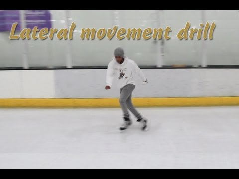 SideStep – Cross Lateral Movement Ice Hockey Power Skating Agility, Balance Drill