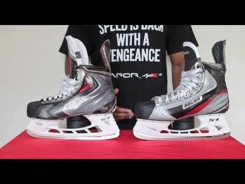 77b2878b91c Bauer Vapor APX Skates vs APX2 Ice Hockey Skates Review – APX Compared To APX  2 Detailed Comparison
