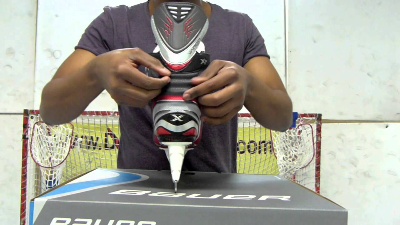 Bauer Vapor X5.0 Ice Hockey Skates Video Review – Hockey ...