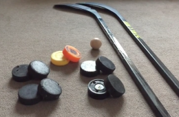 Improve Your Hockey Stickhandling From Home Part 3- #HomeDrillThursday 2