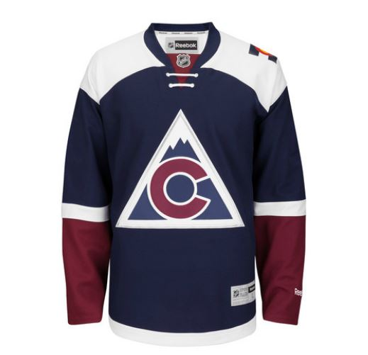 Colorado Avalanche and the Anaheim Ducks New Jerseys LEAKED 2