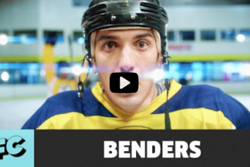 HOCKEY COMEDY SITCOM (TV SHOW) BENDERS hockeytutorial
