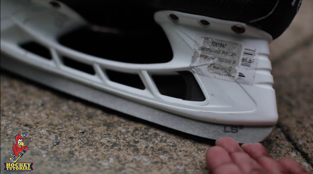 How To Remove Stickers From Hockey Stick Blade Helmet Or Skates 2323
