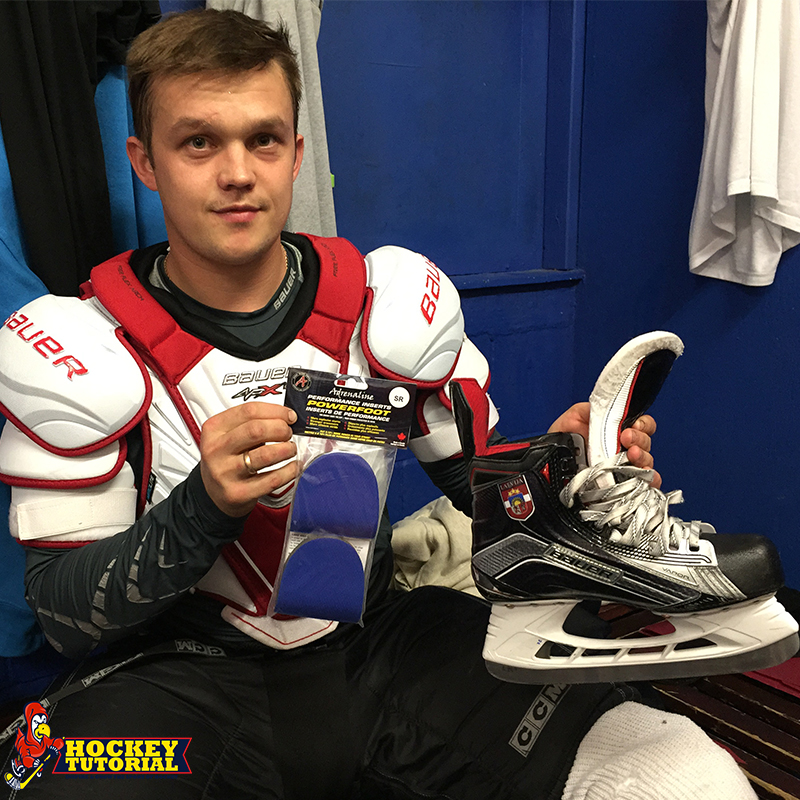 POWERFOOT Hockey Performance Insert - Adrenaline Design #getPOWERFOOT 3