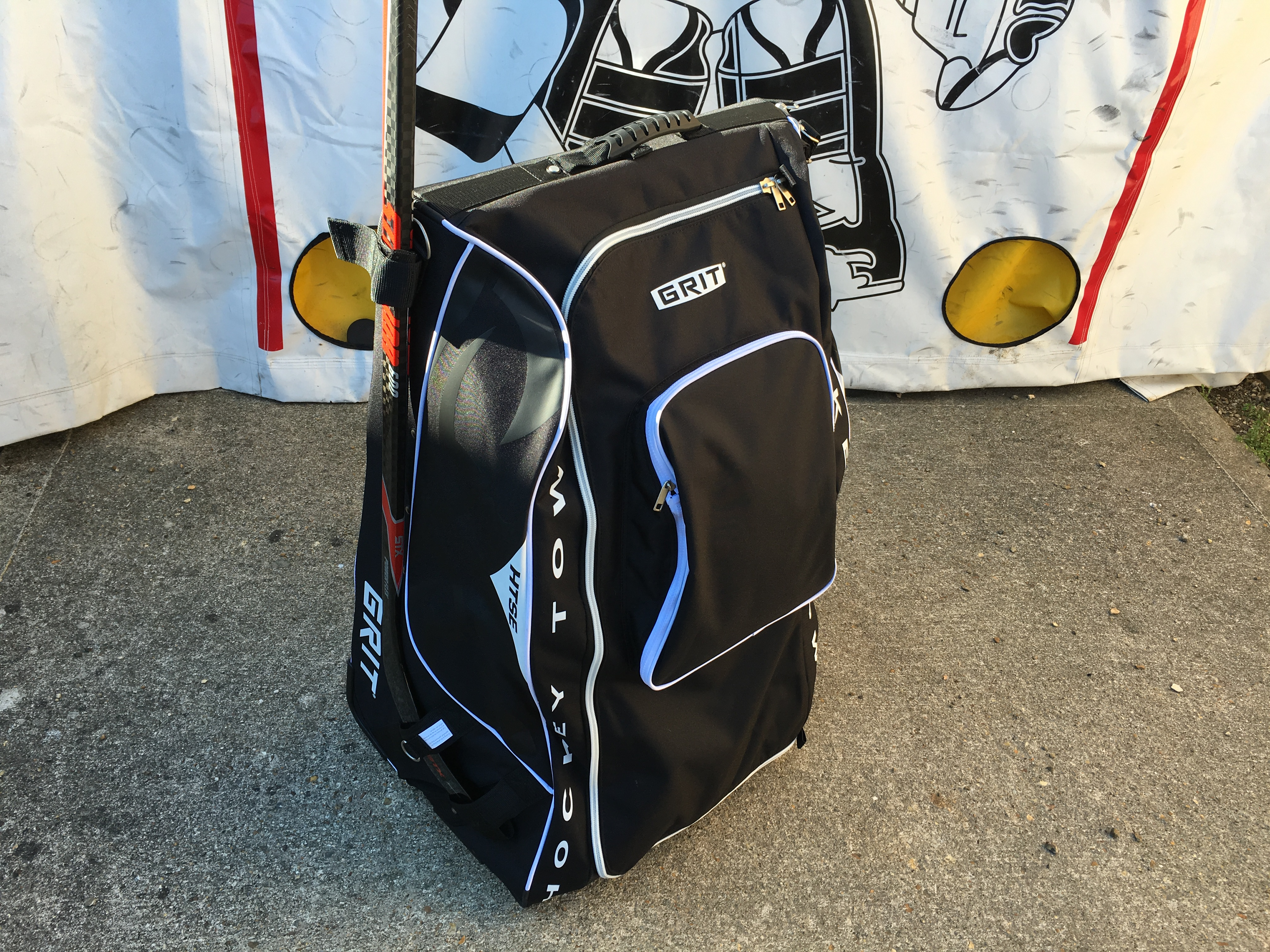 Grit HTSE Tower Hockey bag review9127
