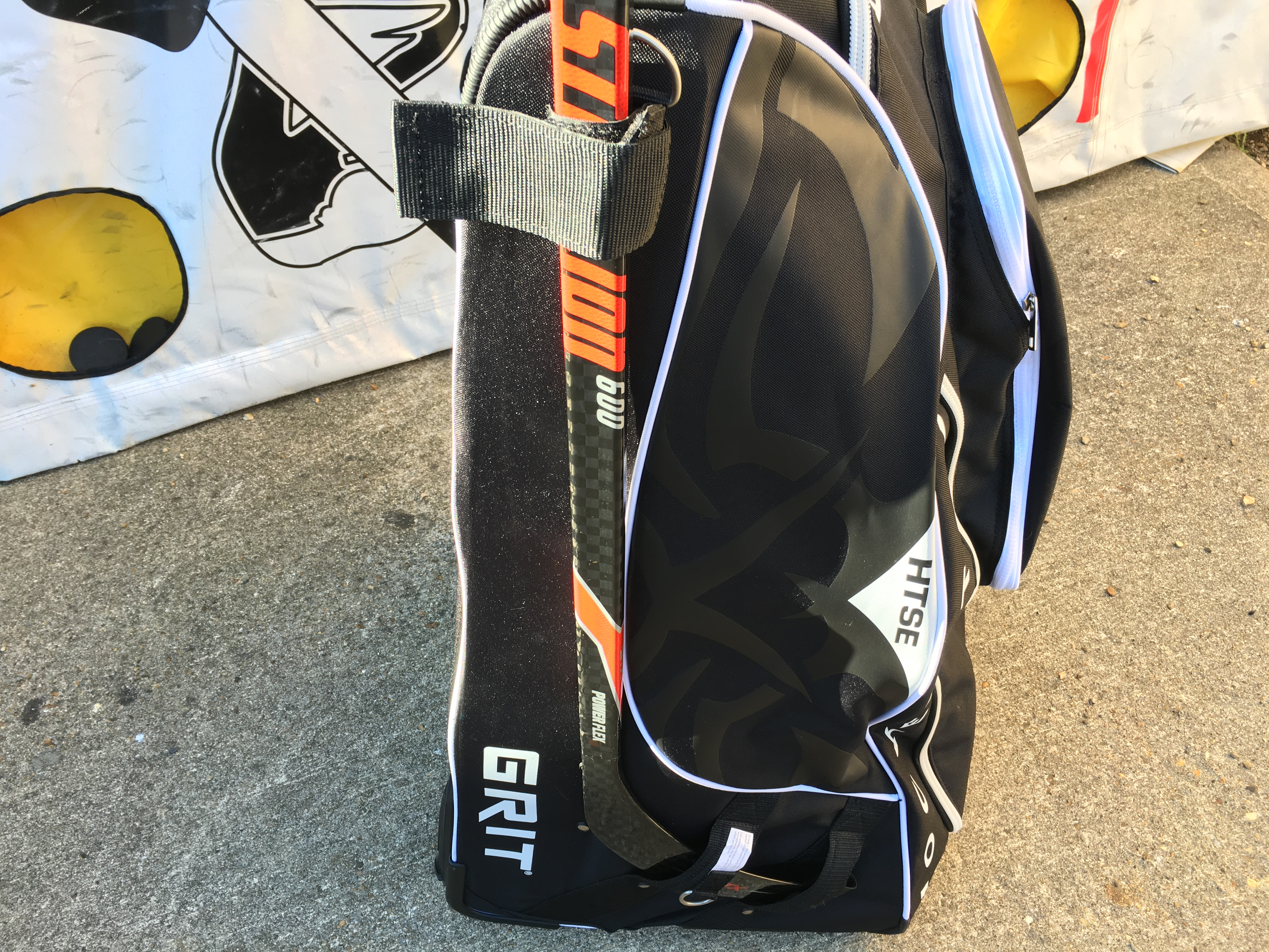 Grit HTSE Tower Hockey bag review9152