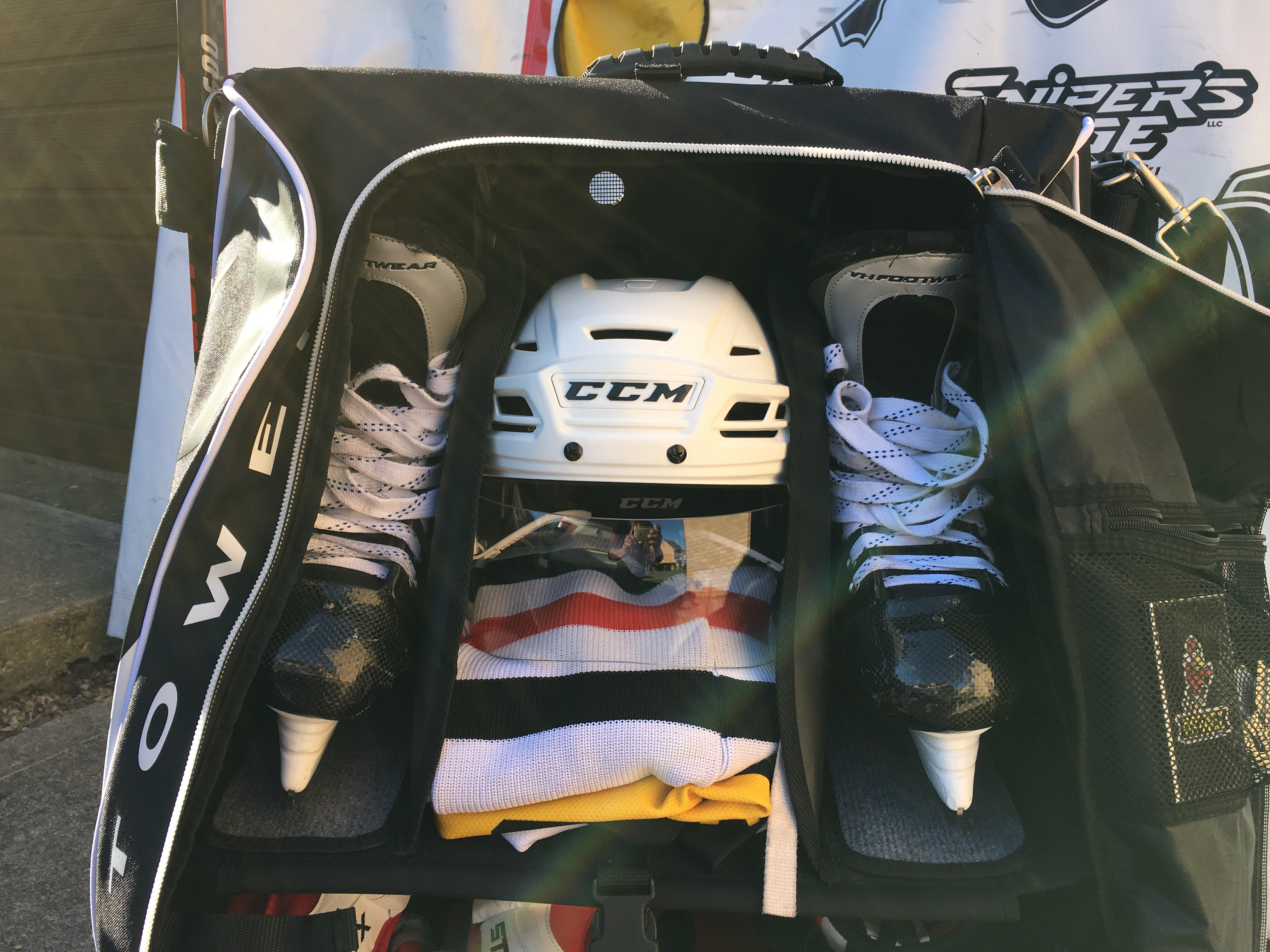 Grit HTSE Tower Hockey bag review9159