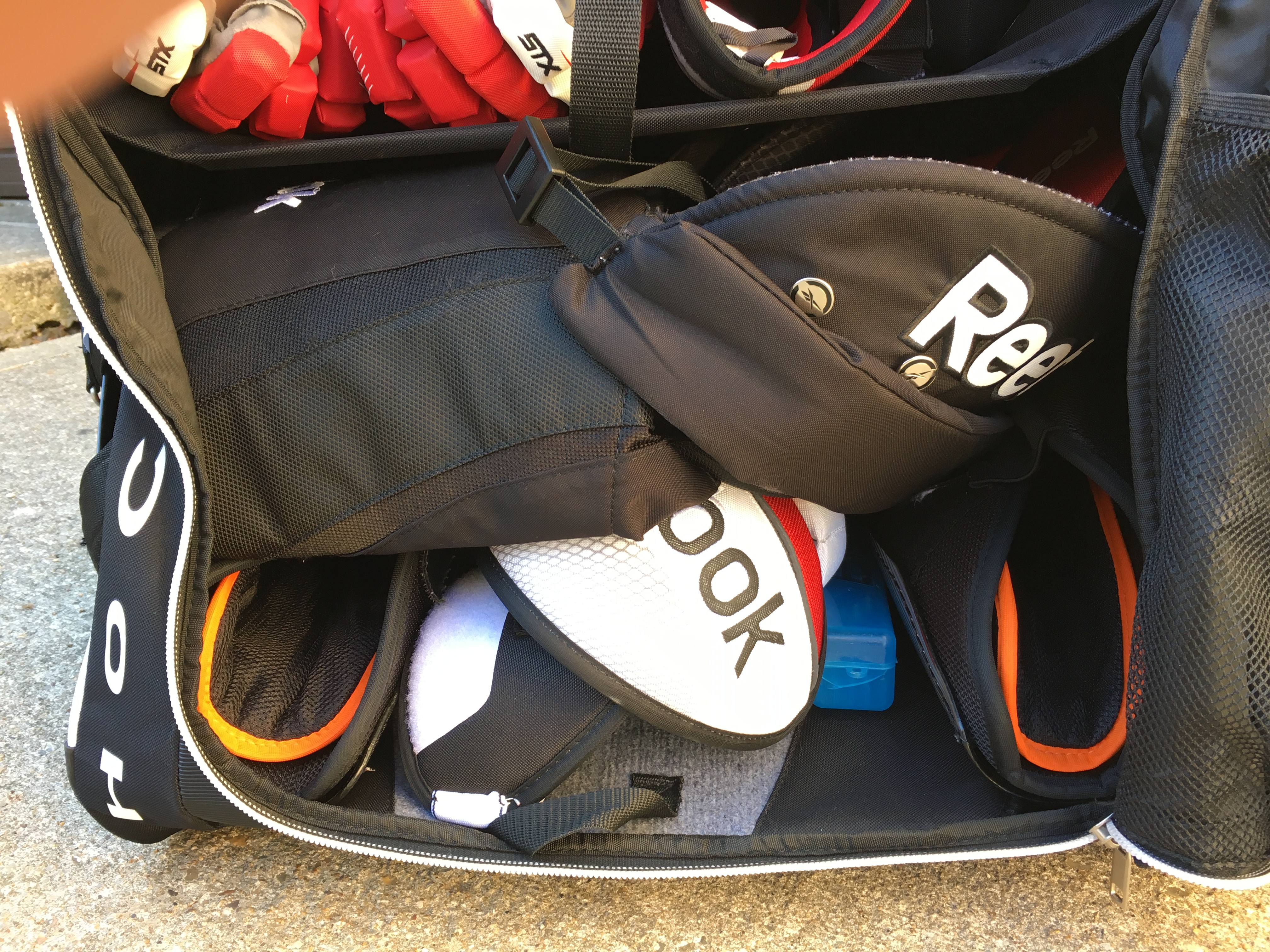 Grit HTSE Tower Hockey bag review9162