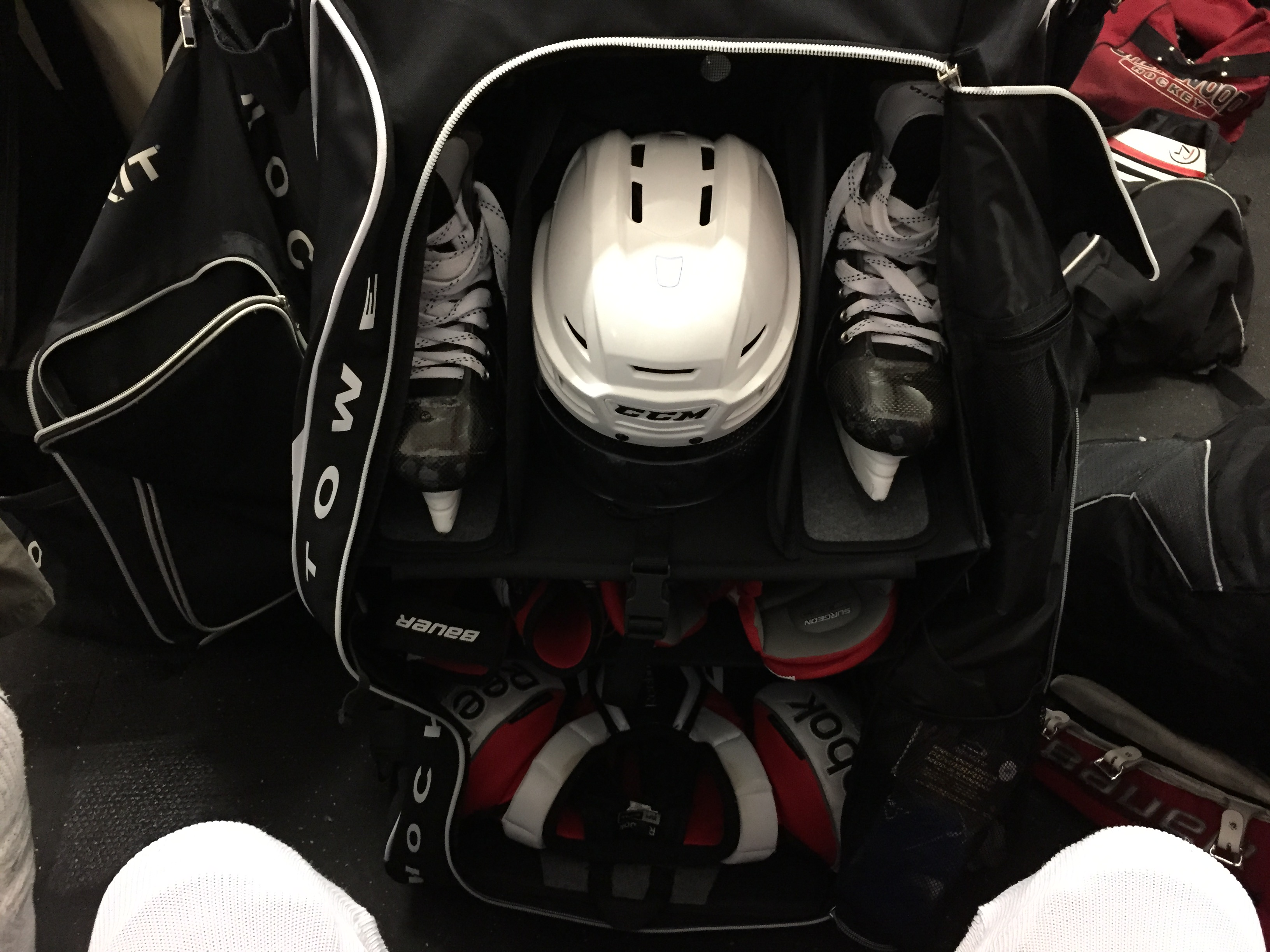 Grit HTSE Tower hockey bag review hockeytutorial
