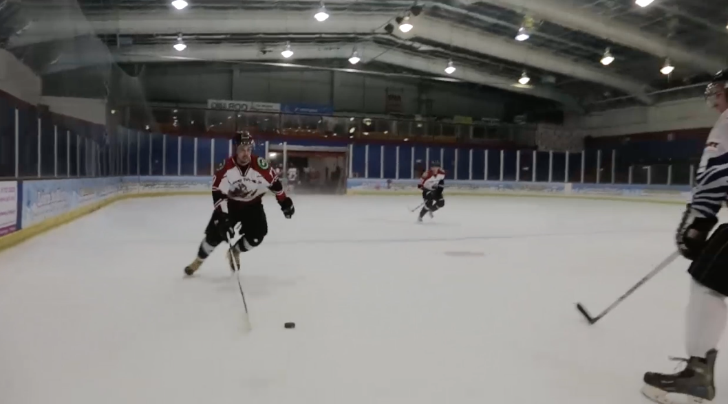 How to skate faster with the puck