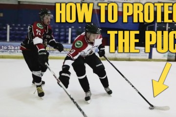 how to protect the puck in hockey