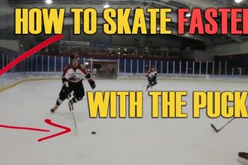 how to skate faster with the puck breakaway