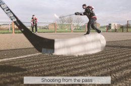 the best off ice shooting drills with hockey wrap around shooting from a pass