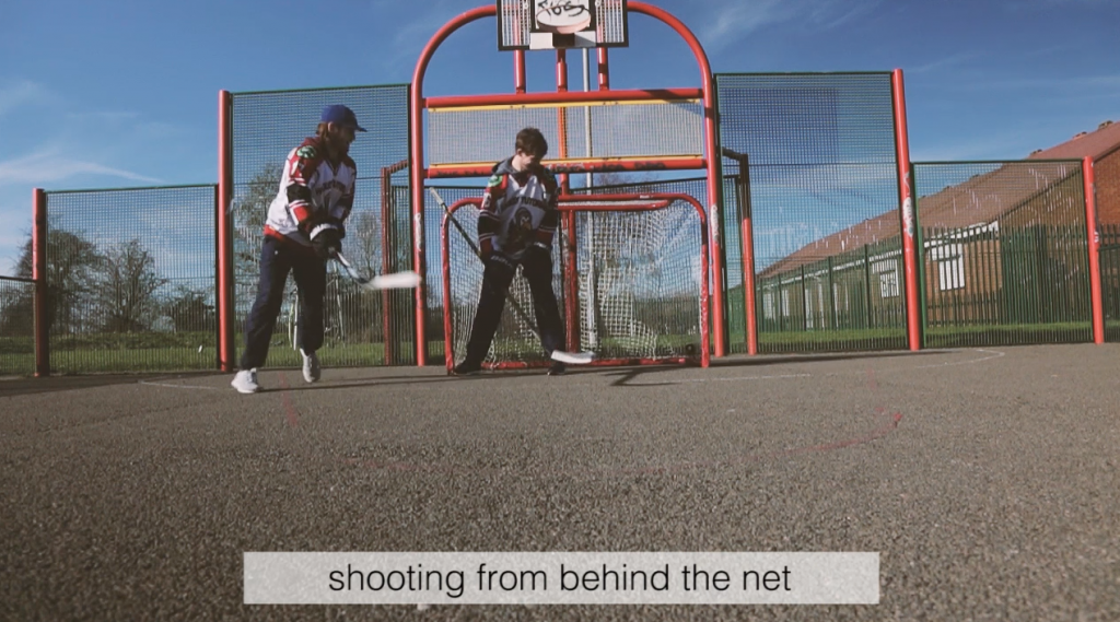 the best off ice shooting drills with hockey wrap around shooting from behind the net