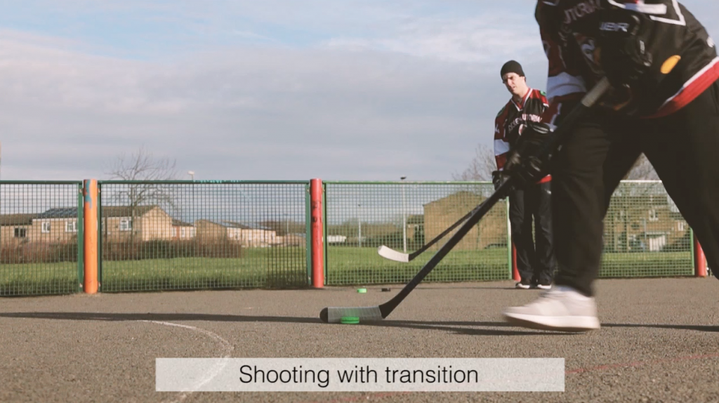 the best off ice shooting drills with hockey wrap around shooting with transitions
