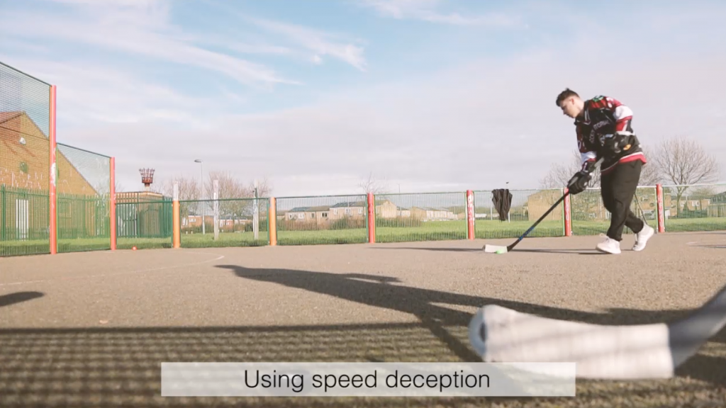 the best off ice shooting drills with hockey wrap around using speed deception