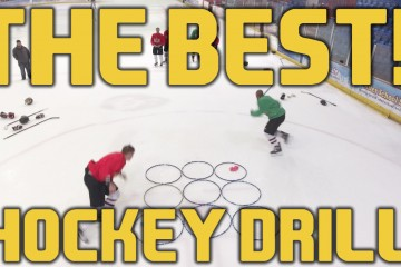 Best ice hockey drill