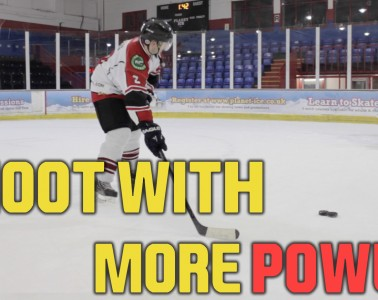 how to shoot with more power