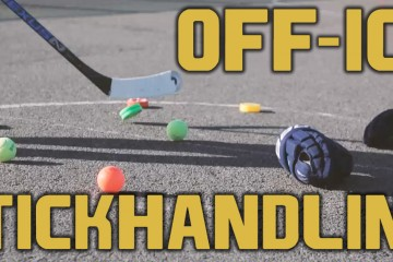 Top 5 Off-Ice Stickhandling Drill To Help You Become A Better Hockey Player