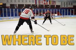 where to be on the ice