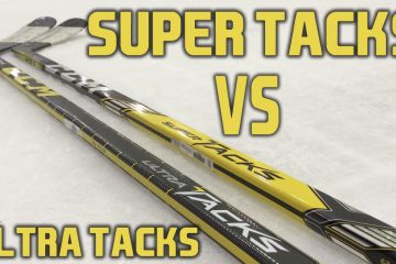 CCM Hockey Super Tacks VS Ultra Tacks stick