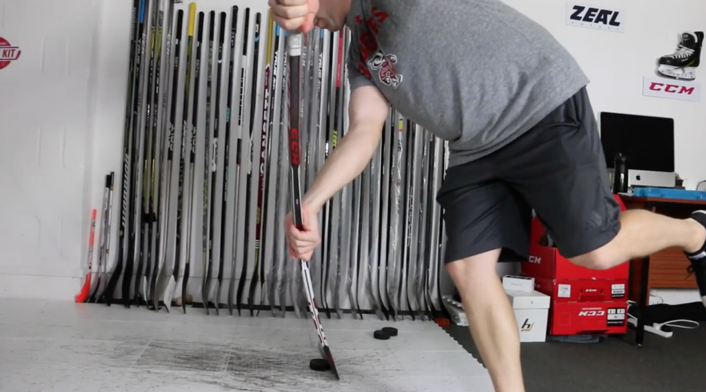how to select hockey stick flex