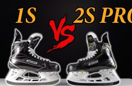 Bauer Supreme 1s vs 2S Pro HOckey Skates