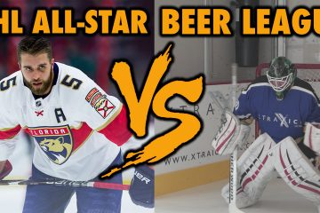 nhl vs beer league