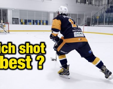 types of hockey shot for players