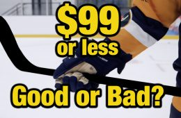 LUMBR HOCKEY cheap ice hockey sticks