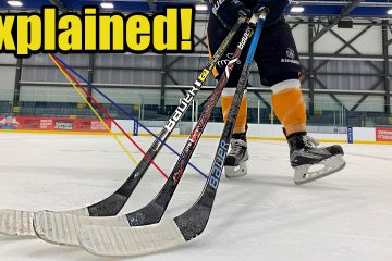 Bauer hockey sticks explained