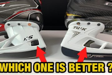 CCM XS quick hockey blade release vs Bauer LS Edge Holder