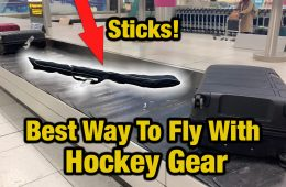 fly with hockey gear