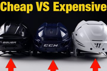 cheap vs expensive hockey helmets